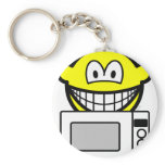 Microwaving smile   keychains