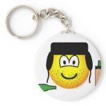Bum emoticon   keychains