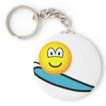 Surfing emoticon   keychains