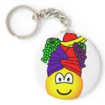 Fruit hat emoticon   keychains