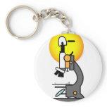 Microscope emoticon   keychains
