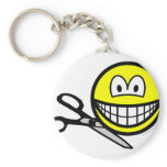 Being cut out smile   keychains