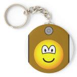 Loudspeaker emoticon   keychains