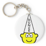 Dunce buddy icon   keychains
