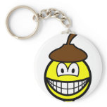 Acorn smile   keychains