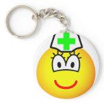 Pharmacist emoticon   keychains