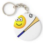Hurling emoticon   keychains