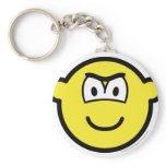 Frowning buddy icon   keychains