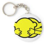 Hugging buddy icon   keychains