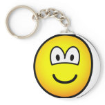 Sore tooth emoticon Bandaged  keychains