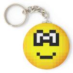 Pixel emoticon   keychains