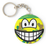 Camouflage smile   keychains