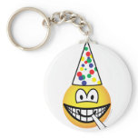 Party emoticon   keychains