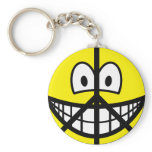 Peace smile   keychains