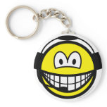 Air traffic controller smile   keychains