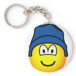 Beanie emoticon   keychains