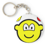 Angel and devil on shoulder buddy icon   keychains