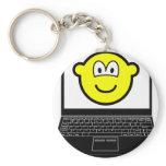 Laptop buddy icon   keychains
