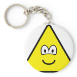 Triangle buddy icon Shape  keychains