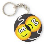 Broadway emoticon   keychains