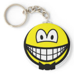 Bow tie smile   keychains