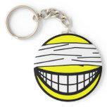 Blindfolded smile   keychains