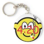 Stoner 4:20 buddy icon   keychains