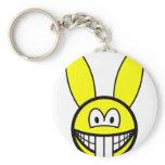 Rabbit smile   keychains