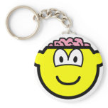Brain buddy icon   keychains