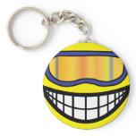 Skier smile (it's colder)  keychains