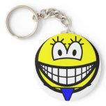 Thong smile   keychains