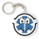 EMT buddy icon Emergency Medical Technician  keychains