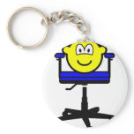 Office chair buddy icon   keychains