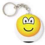 Levitating emoticon   keychains