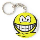 Yoga smile   keychains