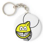 Werewolf smile   keychains