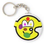 Painters palette buddy icon   keychains