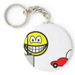 RC car smile Remote control  keychains