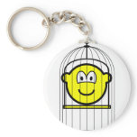 Caged buddy icon   keychains