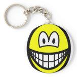 Thin smile   keychains