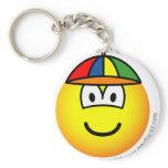 Baby boy emoticon   keychains