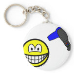 Hair drying smile   keychains