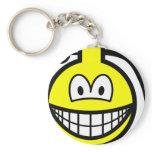 Grenade smile   keychains