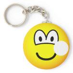 Hole emoticon   keychains