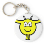Goat buddy icon   keychains
