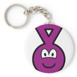 Teletubbie buddy icon Tinky Winky  keychains