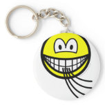Blowing smile   keychains