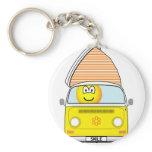 Campervan emoticon   keychains