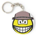 Cowboy smile   keychains