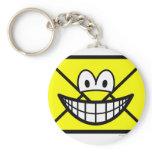 Envelope smile   keychains